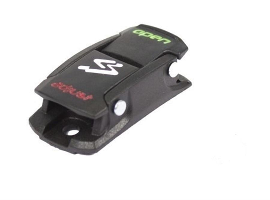 Catraca Trava Micrométrica Presilha de Sapatilha Spiuk para Bike Preta 2368