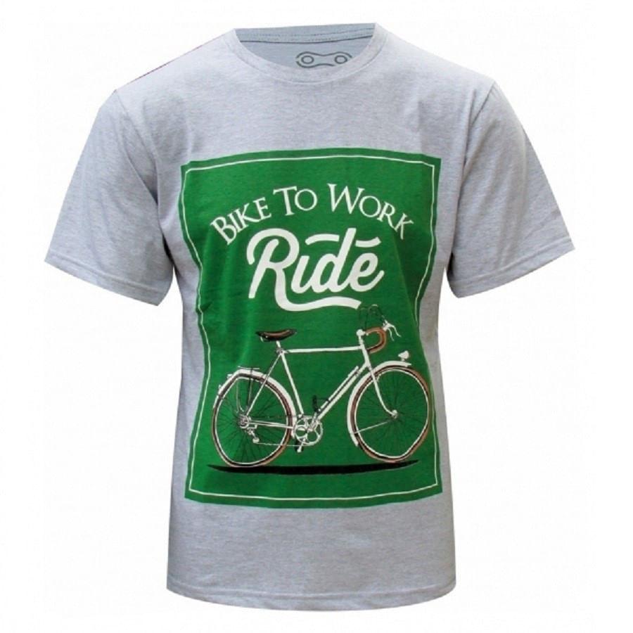 Camiseta Casual Marcio May Bike To Work 5712