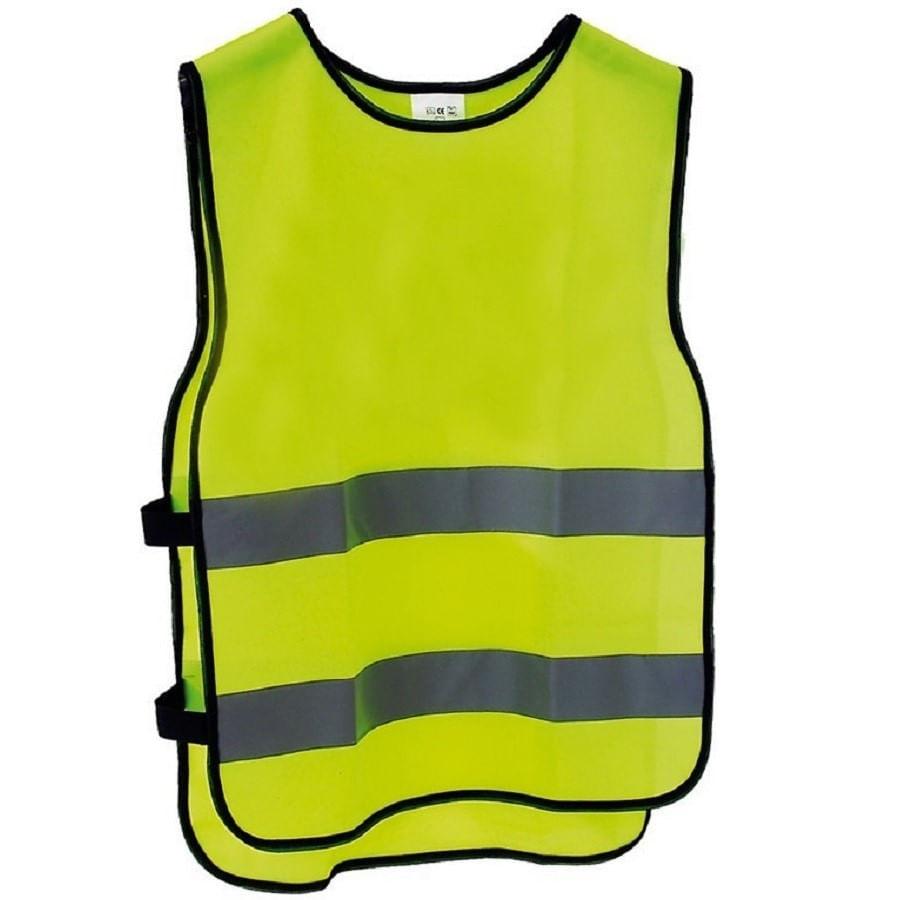 Colete Refletivo para Ciclista Babeiro M-Wave Amarelo 2276