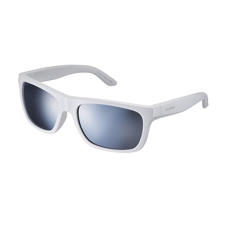 Óculos Casual Shimano CE-S23X Branco com Lente Espelhada 3360