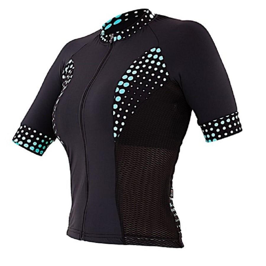 Camisa para Ciclismo Feminina Marcio May Polk Dot CAPOLKDOTP