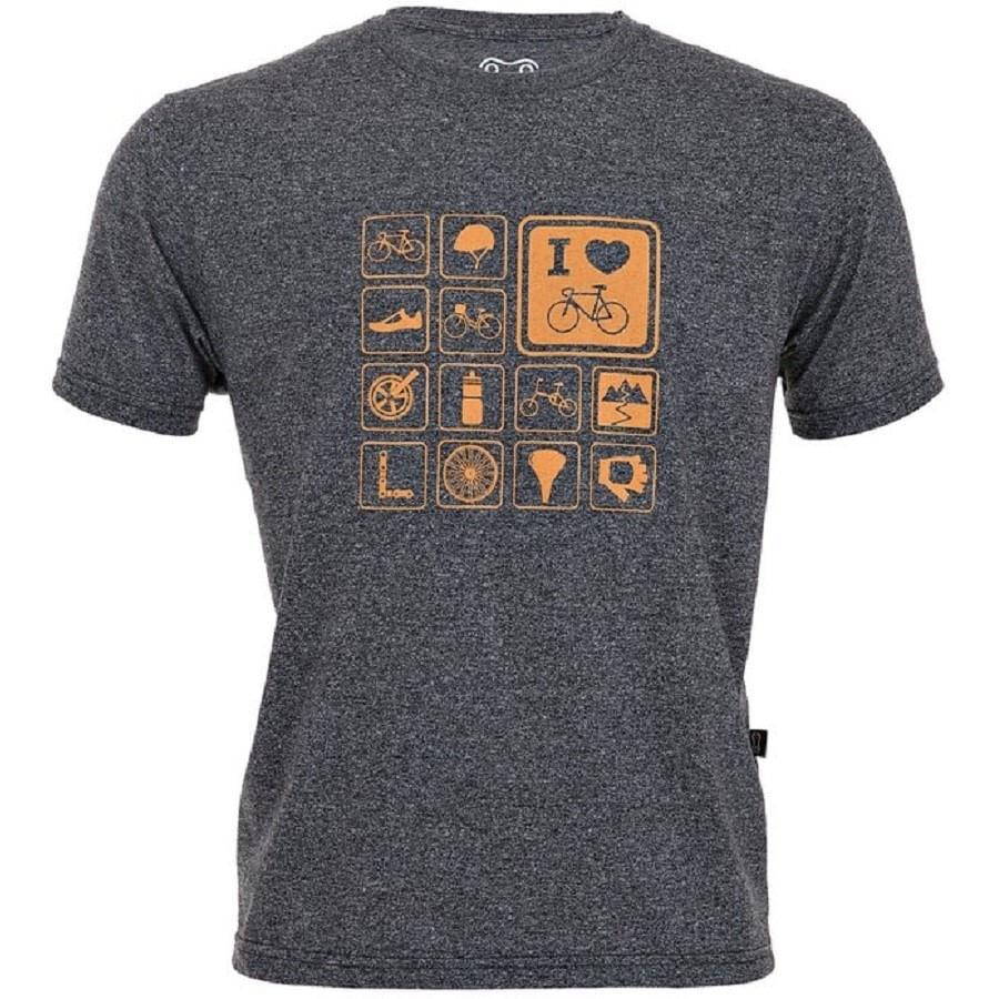 Camiseta Casual Marcio May Temas Cinza Escuro 6432