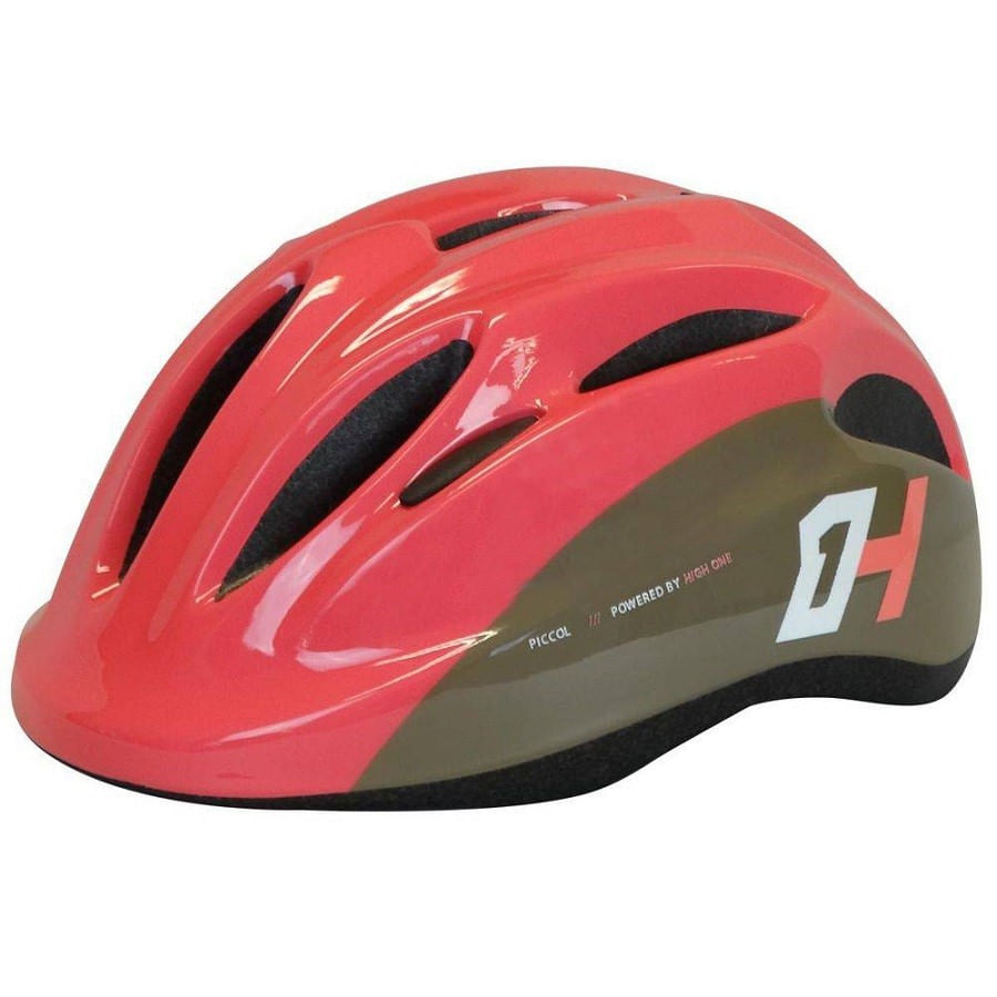 Capacete de Bike Infantil High One Piccolo New Rosa com Regulagem 7745