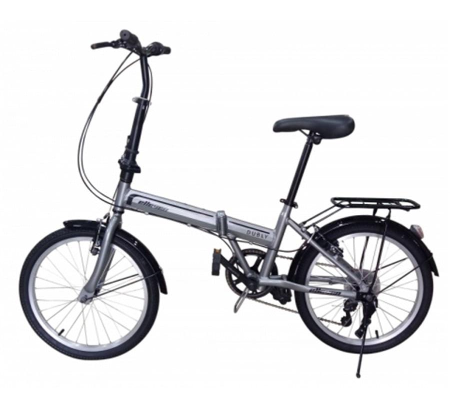 Bicicleta Dobrável Alumínio Aro 20