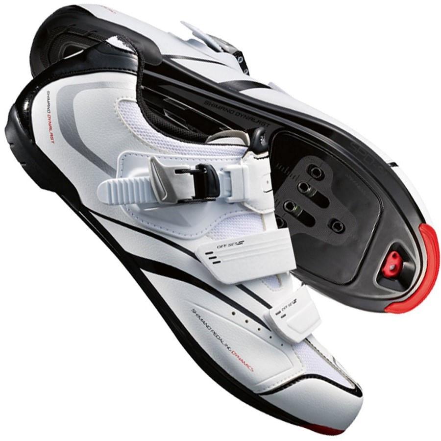 Sapatilha para Bike Shimano Dynalast SPD-SL SH-R088W Branca 45431