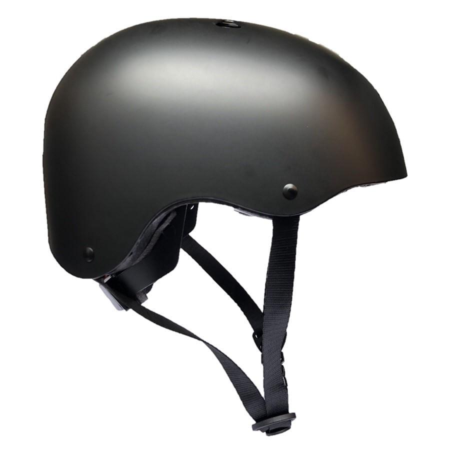 Capacete de Bike BMX Coquinho Absolute M 54-57cm com Regulagem Preto 7566