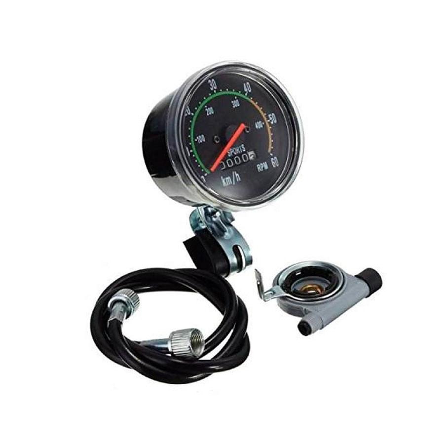 Velocímetro Analógico com Odômetro para Bicicleta Jing Yi 8010