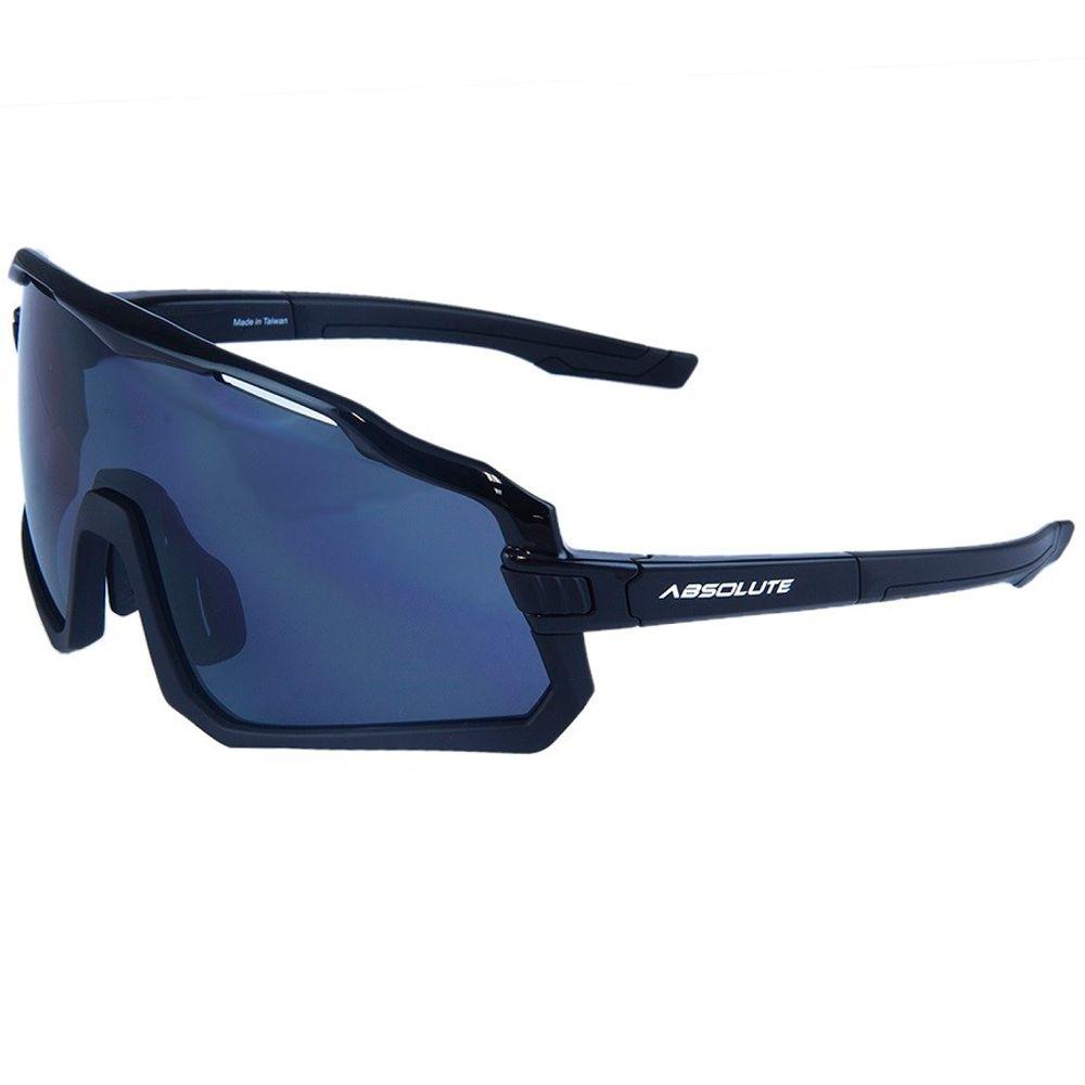 Óculos Ciclismo Absolute Wild Preto Lente Fumê UV400< Eric Bike - ericbike