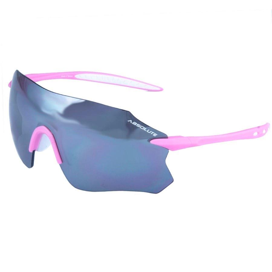Óculos Ciclismo Absolute Prime SL Rosa Branco Lente Espelhada UV400 8055