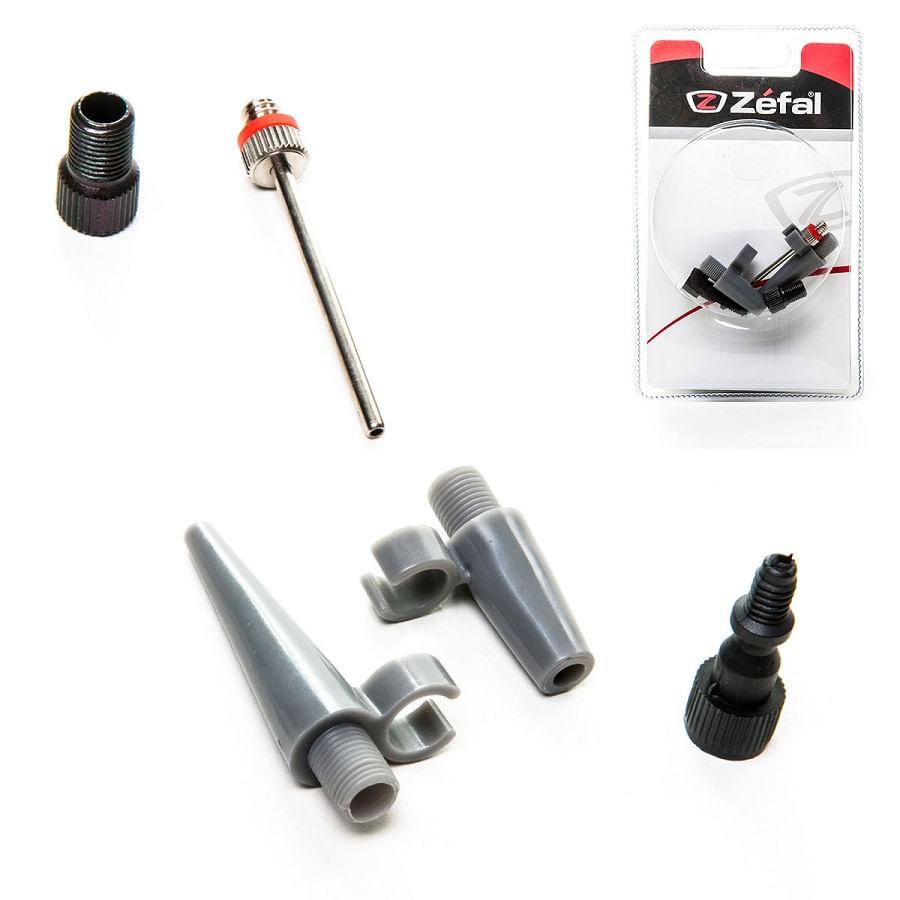 Kit-Adaptador-Bico-Bomba-de-Bicicleta-5-Pecas-Presta-Schrader-Bola-Boia-Inflavel-Zefal---7547----3-