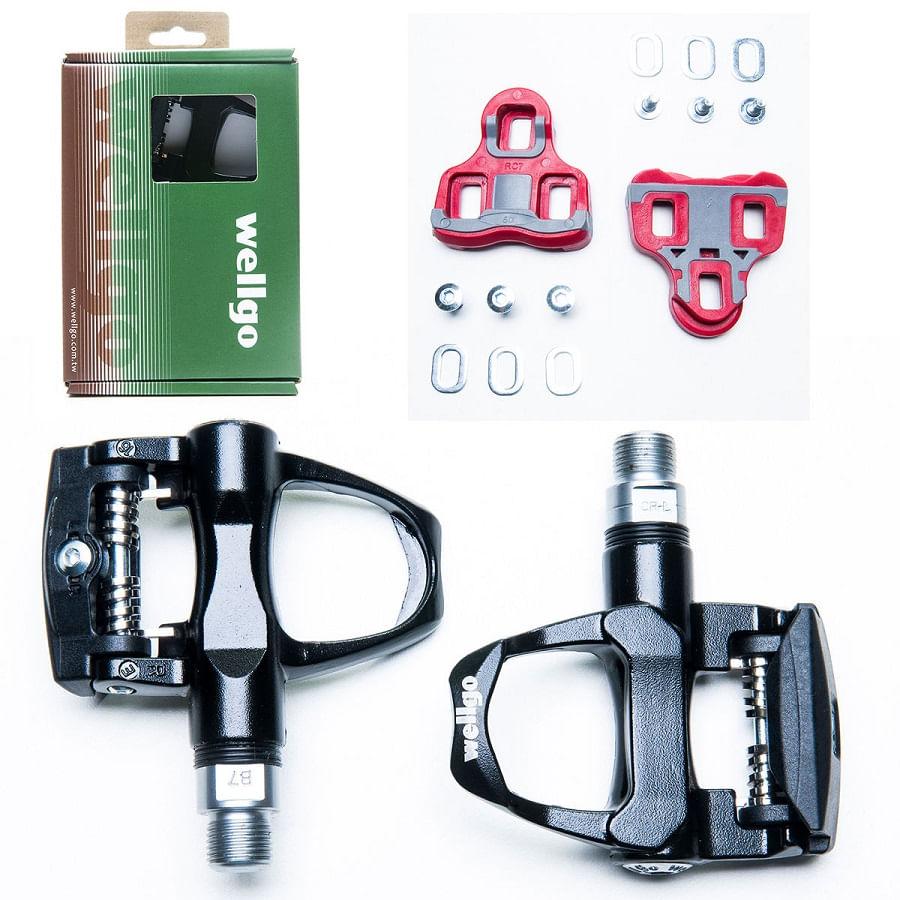 Pedal-Clip-de-Bicicleta-Speed-Wellgo-SPD-RC7-R096B-Rosca-916-Grossa-Preto---8473