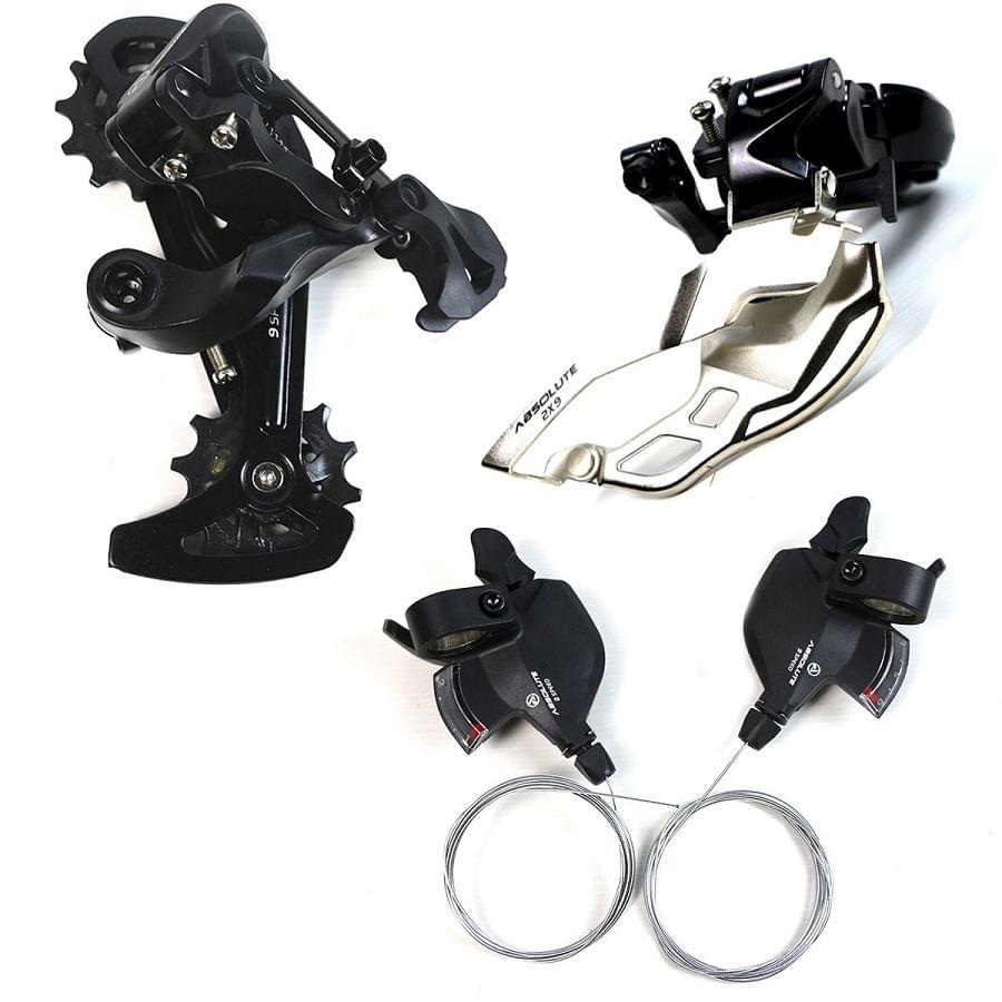 Kit-Cambio-Dianteiro-e-Traseiro-com-Passadores-2x9-18-Marchas-Absolute-para-Bike-MTB---8462
