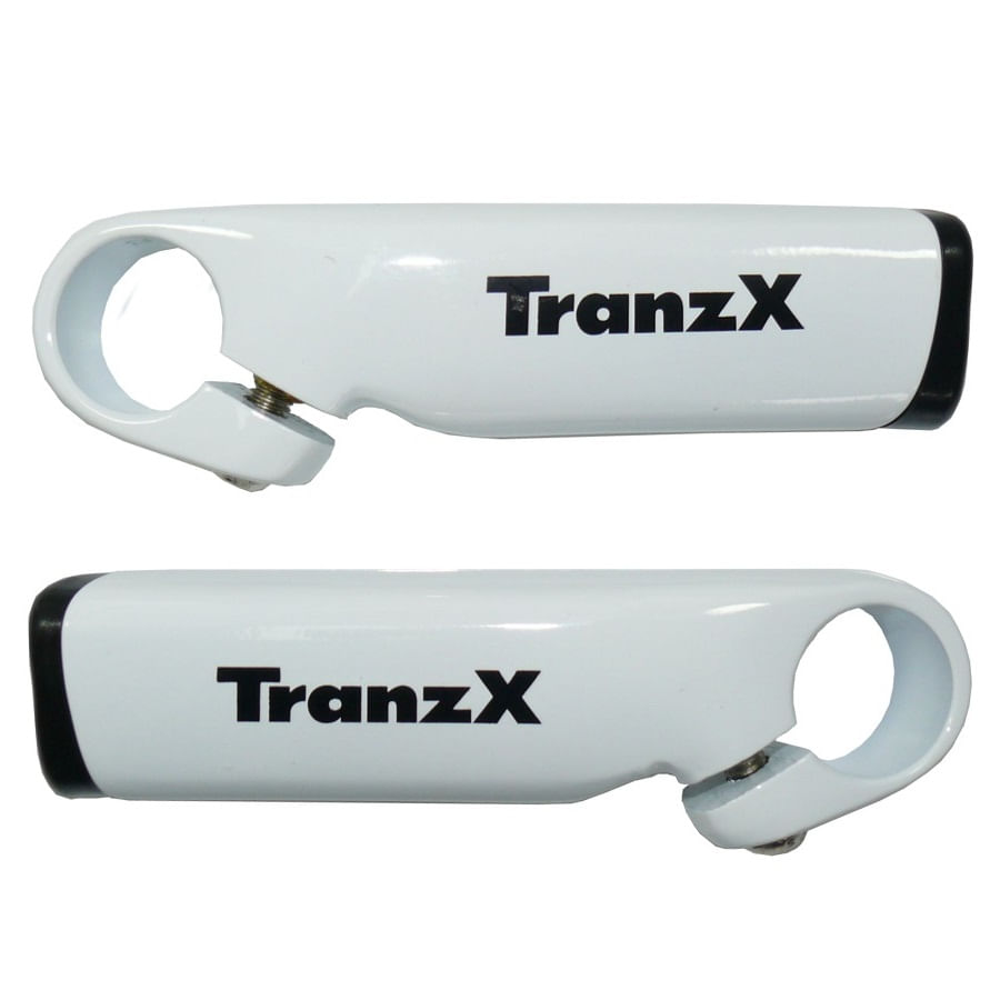 Bar-End-Chifre-de-Aluminio-Branco-100mm-para-Guidao-de-Bike-Tranz-X---8523