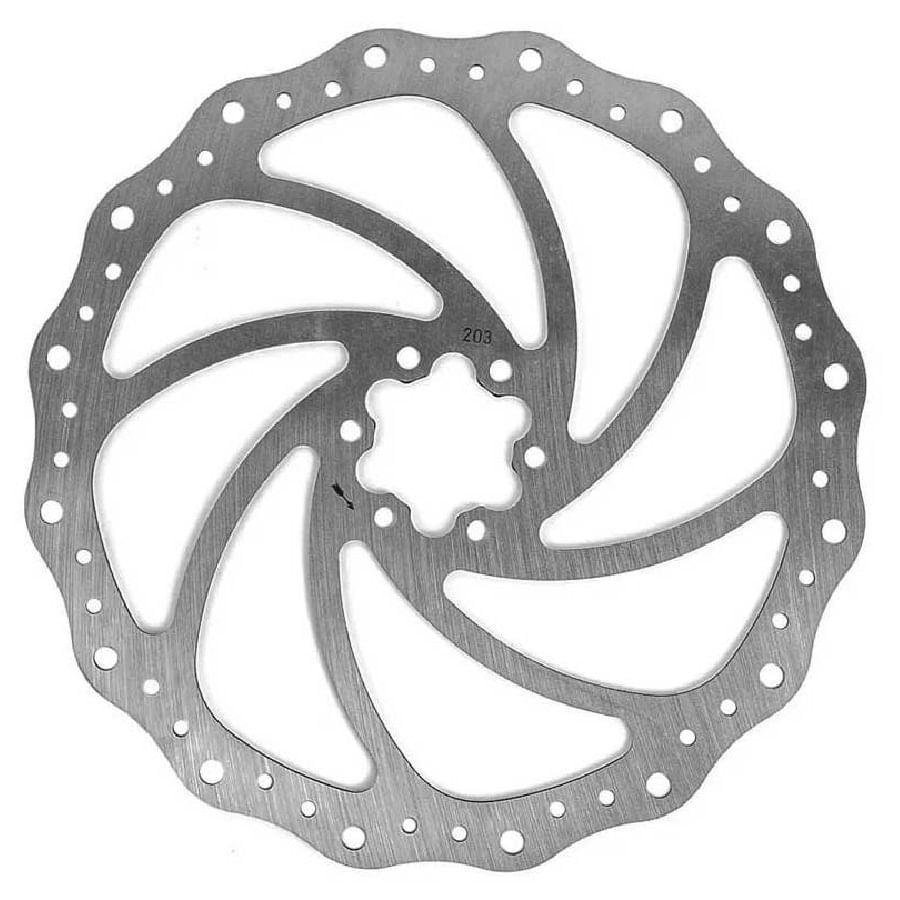 Disco-Rotor-Absolute-203mm-para-Freio-de-Bike-com-6-Furos---3629ou2542--2-