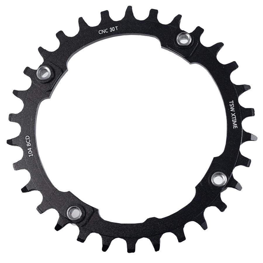 Coroa-de-Bicicleta-MTB-TSW-X-Time-S11-30-Dentes-BCD-104mm-Aluminio---8844--2-