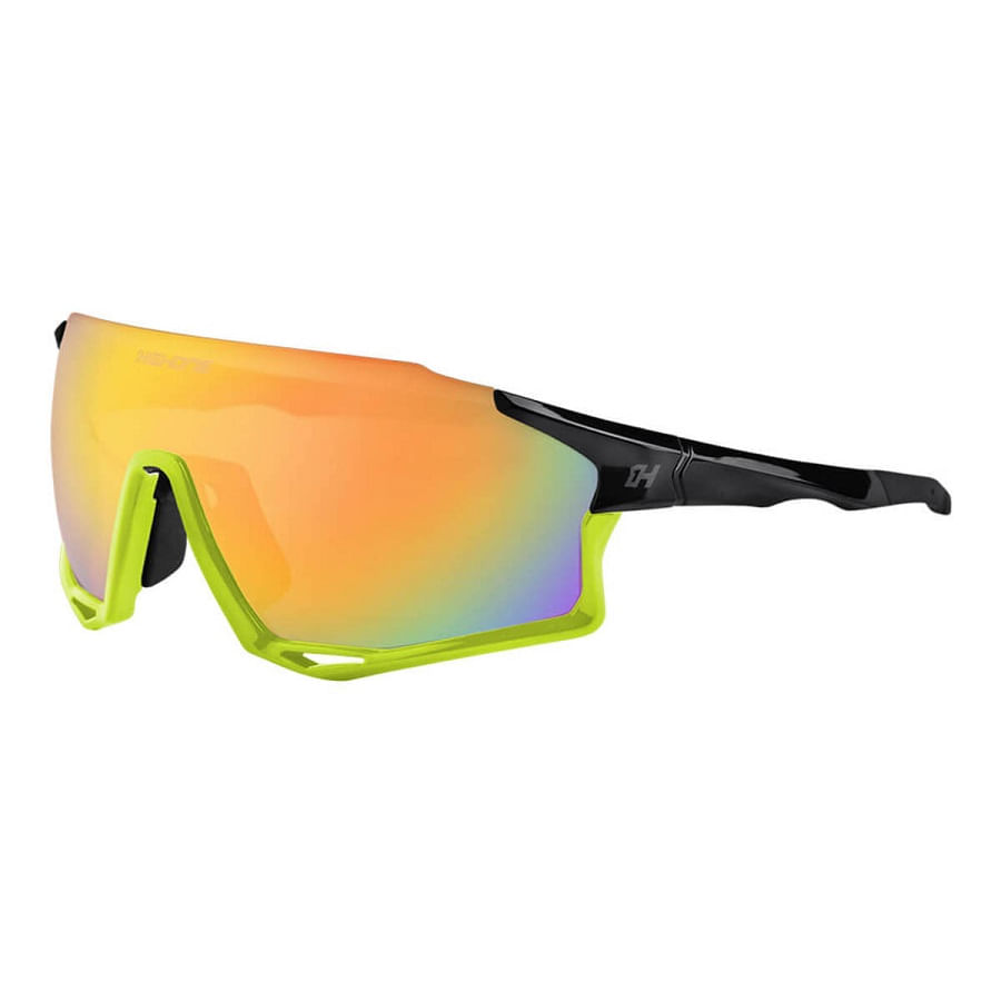 Oculos-para-Ciclismo-High-One-Mark-Amarelo-Neon-3-Lentes-UV400---9145--2-