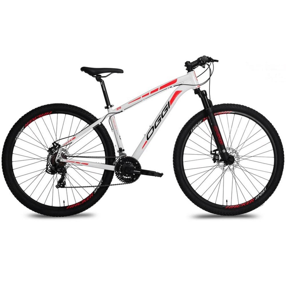 Bicicleta-MTB-Oggi-Hacker-Sport-29-Branca-Vermelho