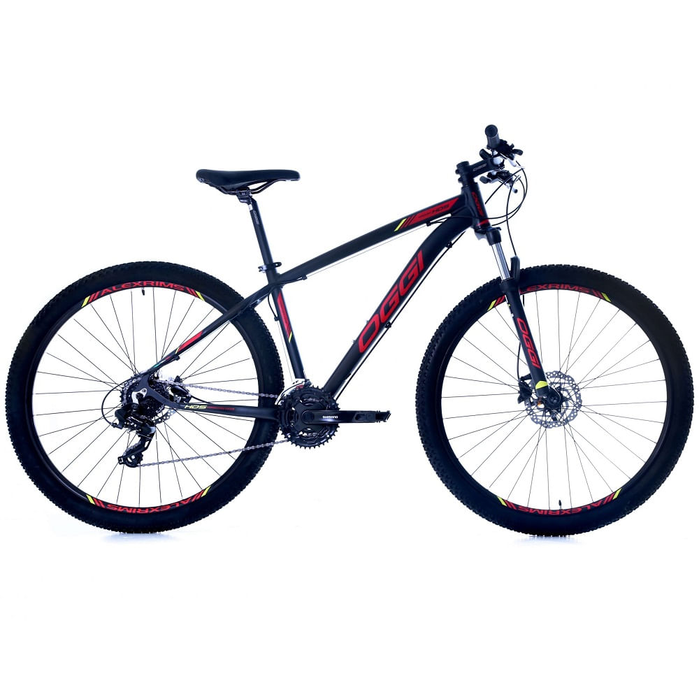 Bicicleta-MTB-Oggi-Hacker-HDS-29-Preto-Vermelho