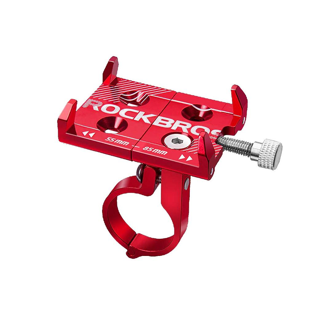 Suporte-de-Aluminio-Universal-para-Celular-Rockbros-Vermelho---9591--3-