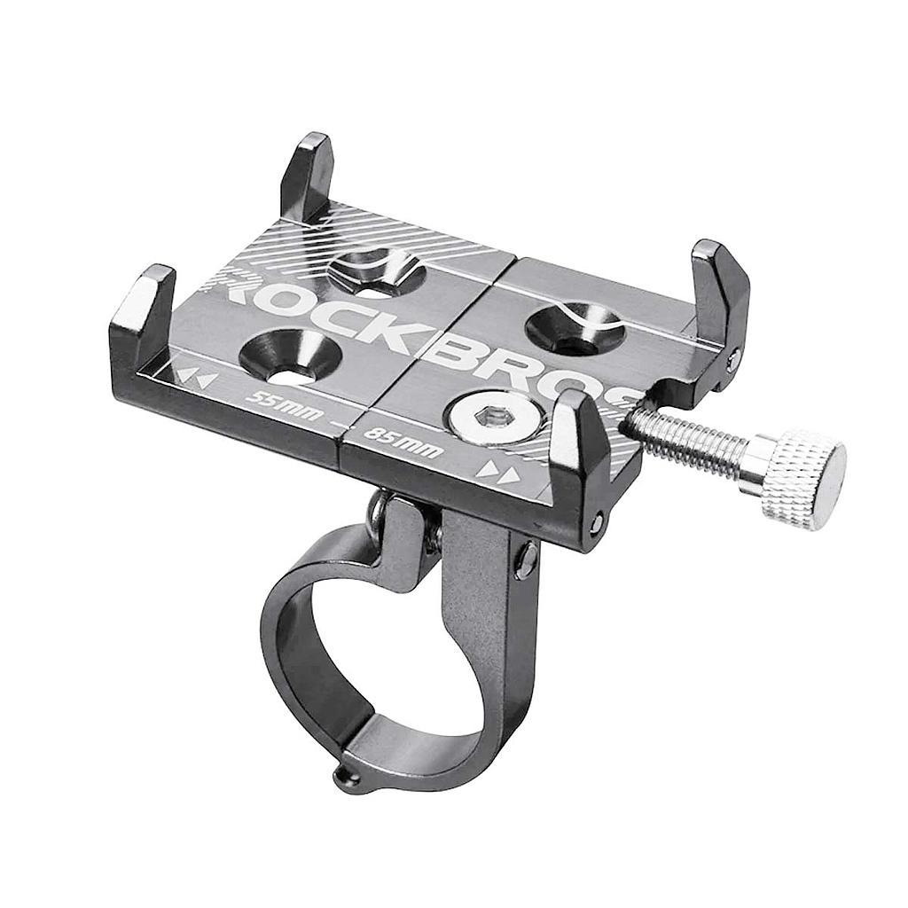 Suporte-de-Aluminio-Universal-para-Celular-Rockbros-Cinza---9590--2-