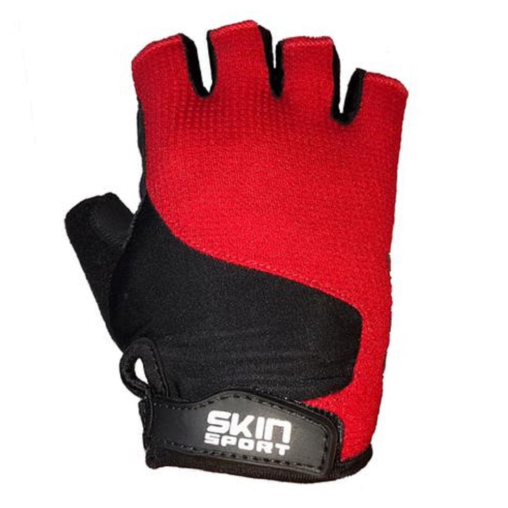 Luva-de-Bike-Skin-Sport-Race-II-Meio-Dedo-com-Gel-e-Velcro-Vermelha--2-