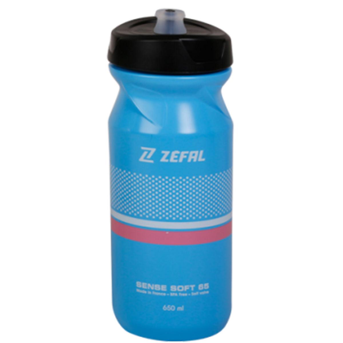 Garrafa-Caramanhola-para-Ciclismo-Zefal-Sense-Soft-65-Azul-e-Preto-650ml---9625