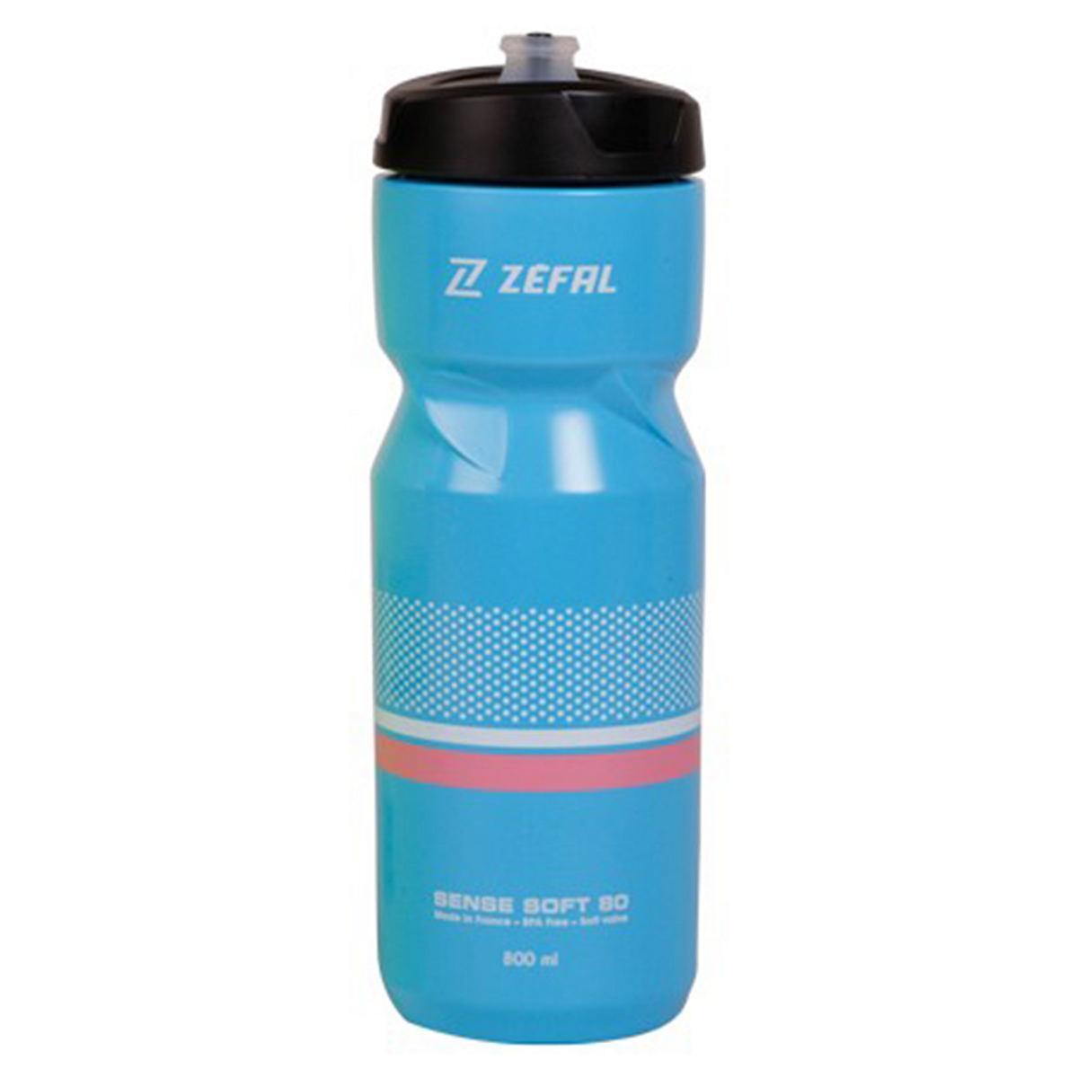Garrafa-Caramanhola-para-Ciclismo-Zefal-Sense-Soft-80-Azul-e-Preto-800ml---9621