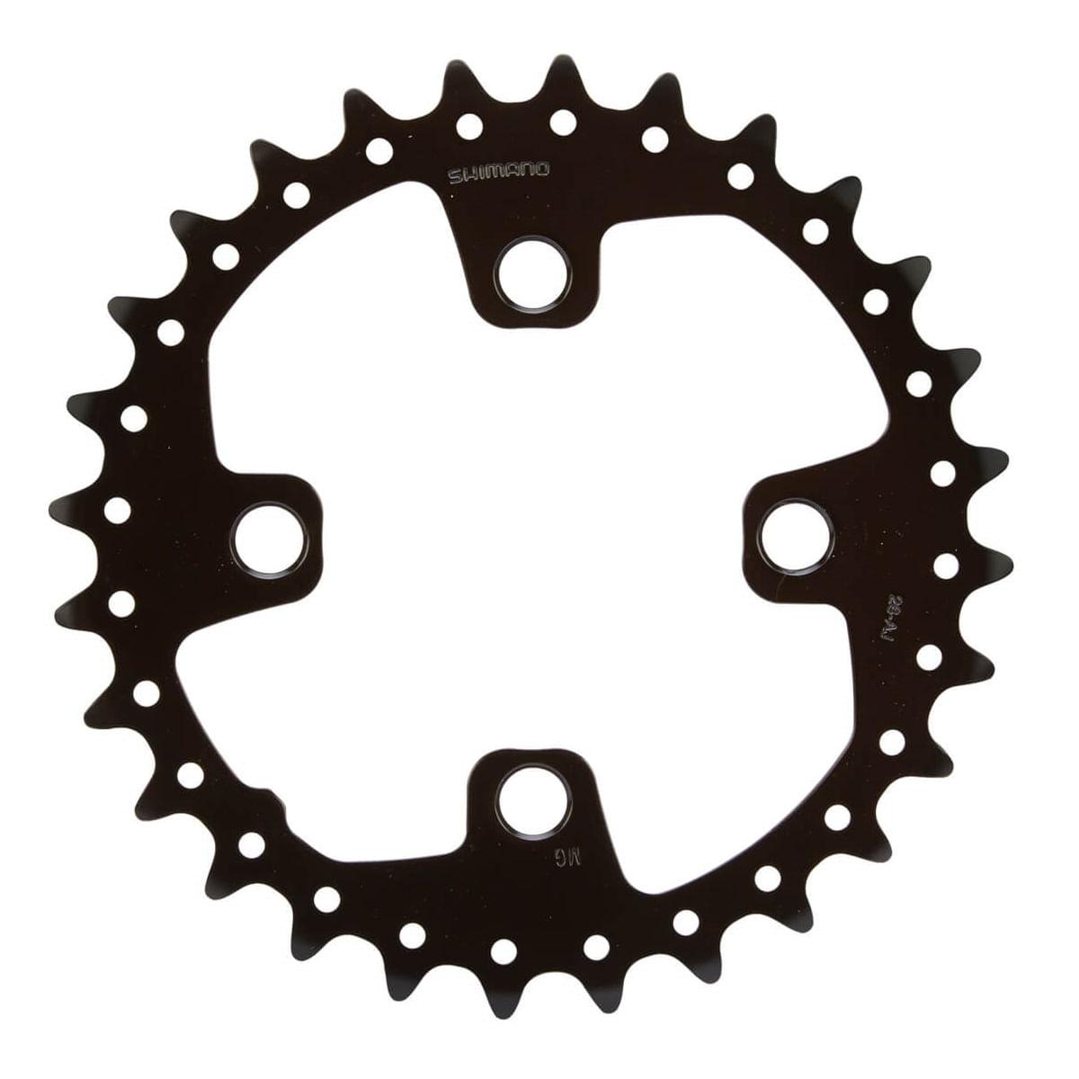 Coroa-de-Bicicleta-MTB-Shimano-SLX-28-Dentes-64mm-FC-M675---9733