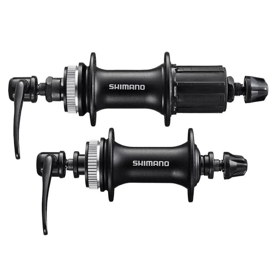 Par-de-Cubo-para-Bicicleta-Shimano-Touney-TX505-36F-Center-Lock-K7-8V-ate-12V-MTB---9998---9997--4-
